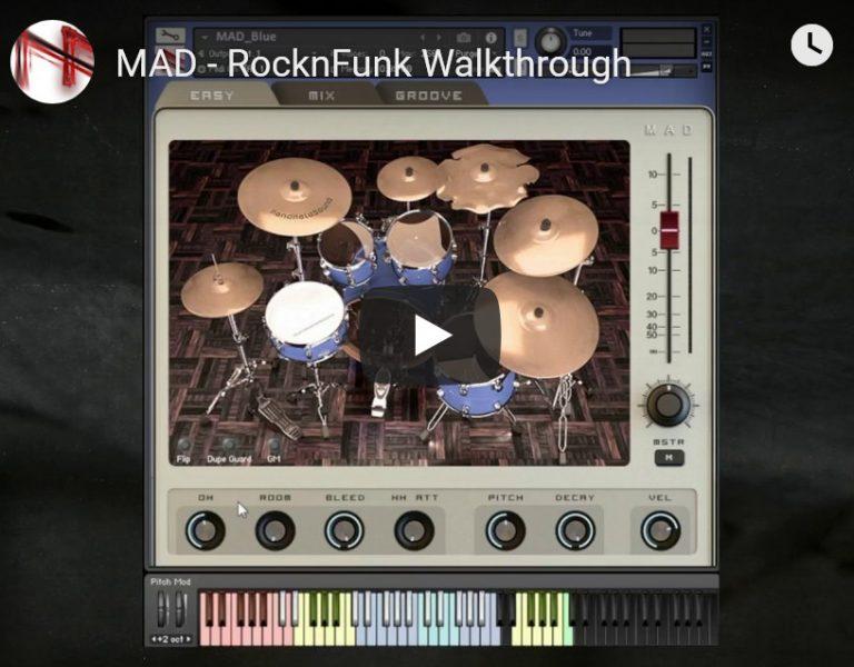MAD鼓音源HandHeldSound MAD – RocknFunk KONTAKT