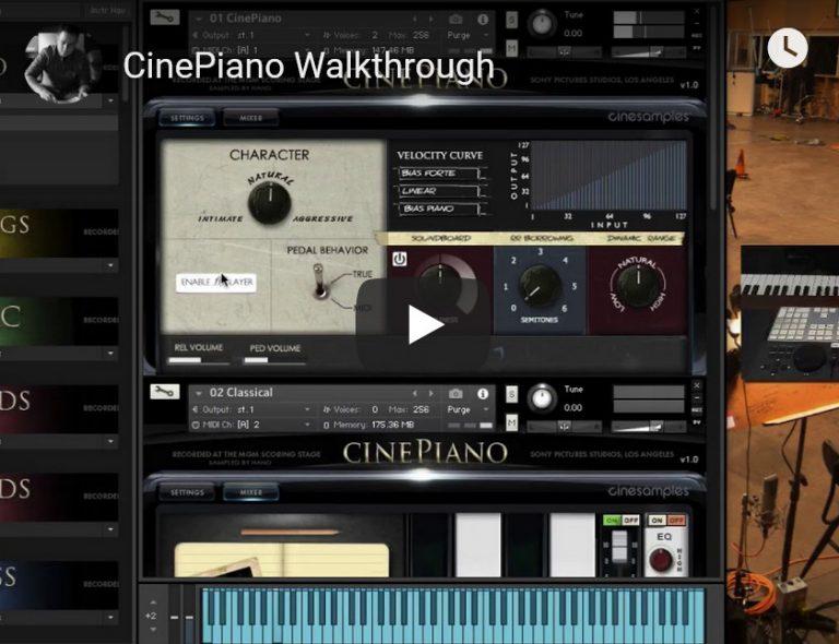 影视钢琴音源Cinesamples CinePiano KONTAKT