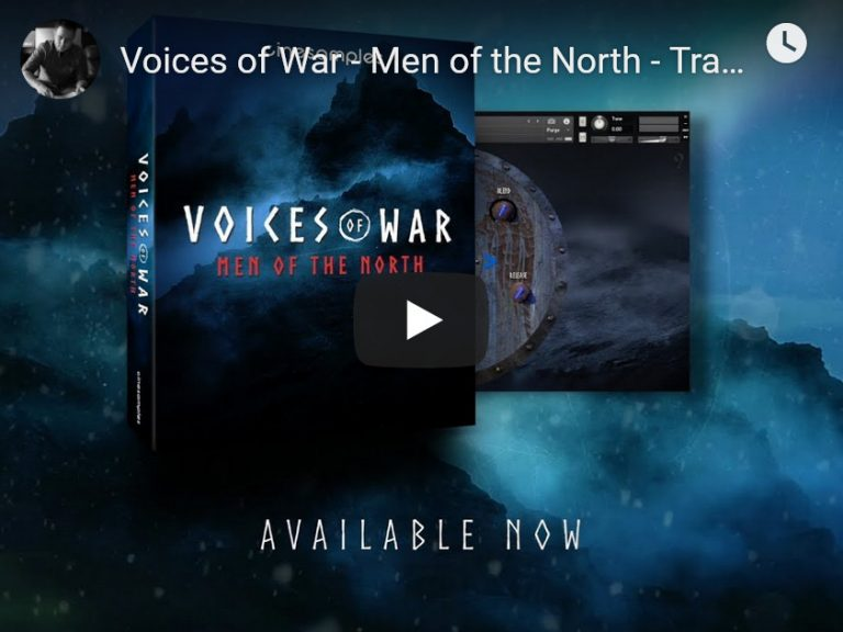 男低音合唱团音效素材Cinesamples Voices of War – Men of the North KONTAKT