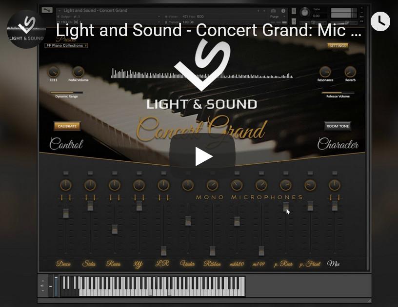施坦威C钢琴音源Light and Sound Concert Grand v1.14 KONTAKT