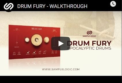 鼓音源Sample Logic DRUM FURY KONTAKT