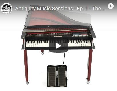 电钢琴音源Antiquity Music Electric Harpsichord KONTAKT