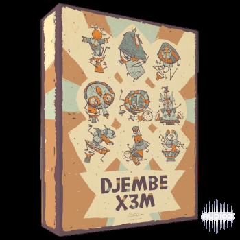 采样音源音效素材Strezov Sampling DJEMBE X3M KONTAKT