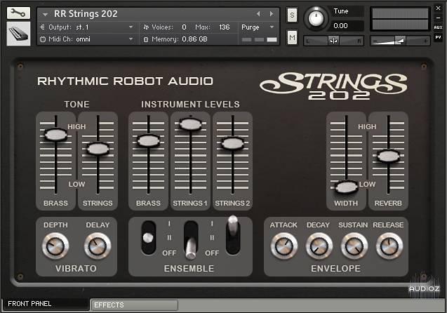 节奏弦乐合成器音源Rhythmic Robot Audio Strings 202 KONTAKT