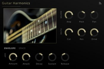 吉他音源Noiiz Guitar Harmonics for Noiiz Player