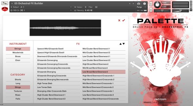 影视管弦乐音源Red Room Audio Palette Orchestral FX V1.1 For KONTAKT