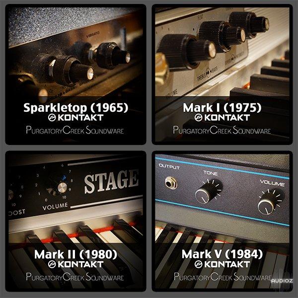 马克1-3世系列钢琴音源Purgatory Creek Soundware Tine Collection KONTAKT