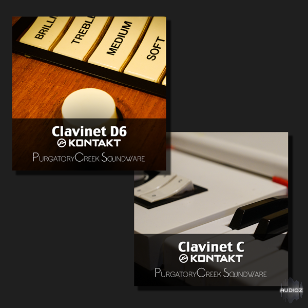 Clavinet系列电钢琴音源Purgatory Creek Soundware Clavinet Collection KONTAKT