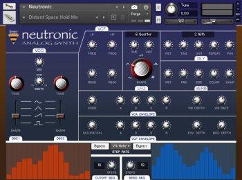 模拟合成器音源Genera Studios Neutronic KONTAKT