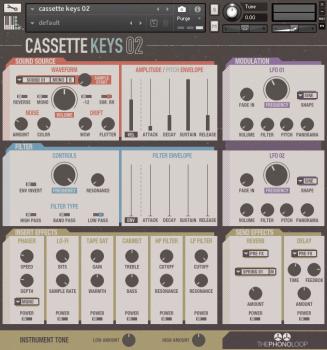 综合合成器音源THEPHONOLOOP Cassette Keys.02 v1.0 KONTAKT