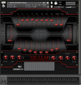 全球电子合成器音源Global Audio Tools Realm KONTAKT