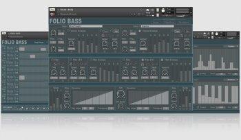 通道机器人贝斯音源Channel Robot Folio Bass v1.1 KONTAKT