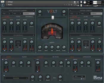 EDM电子音乐合成器音源Castle Instruments Volt KONTAKT