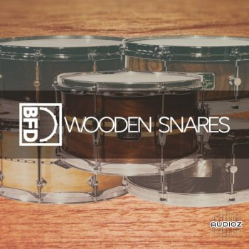 BFD木制小军鼓音源FXpansion BFD Wooden Snares for BFD3-V.R