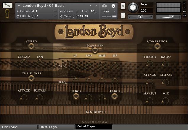 立式钢琴音源Sonixinema London Boyd 1920s Upright For NATiVE iNSTRUMENTS KONTAKT