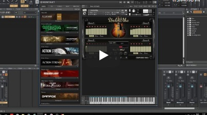 BASS作曲工具音源Composers Tools UnderVibe For NATiVE iNSTRUMENTS KONTAKT