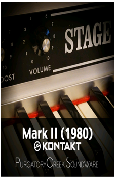小巧经典钢琴音源PurgatoryCreek Soundware Mark II (1980)  KONTAKT