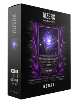 现代影视配乐音源Keepforest AizerX Modern Trailer Designer Toolkit KONTAKT