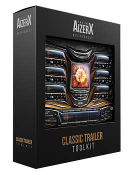 经典预告片合成器音源Keepforest AizerX Classic Trailer Toolkit KONTAKT