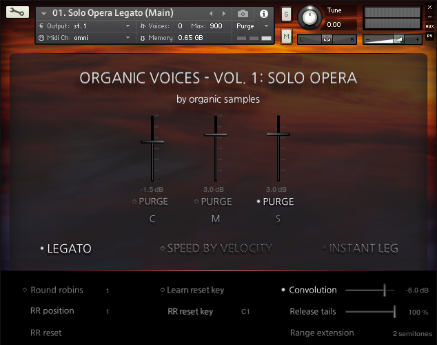 歌剧音源音效采样Organic Samples Organic Voices Volume 1 Solo Opera KONTAKT