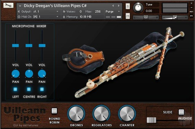爱尔兰风笛音源Xtant Audio Uilleann Pipes for Kontakt