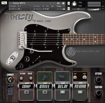 电吉他音源Angel Cano Toasty v1.03 KONTAKT