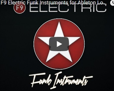 电子放克乐器音源F9 Audio Electric Funk Instruments Kontakt