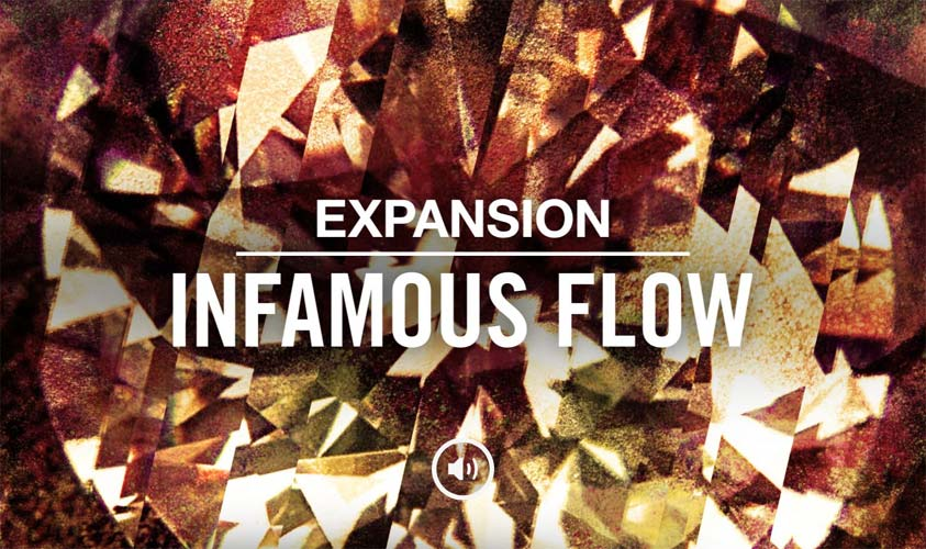 人声音效素材扩展包Native Instruments Expansion INFAMOUS FLOW v1.0.0