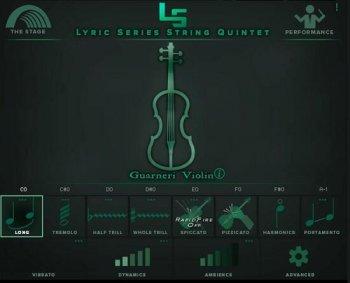 抒情弦乐五重奏音源Kirk Hunter Studios Lyric Series String Quintet KONTAKT