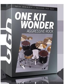 混合就绪鼓音源Getgood Drums One Kit Wonder Aggressive Rock v1.0.0 KONTAKT