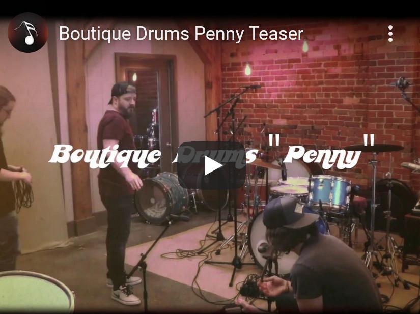 精品鼓音源Musical Sampling Boutique Drums Penny KONTAKT