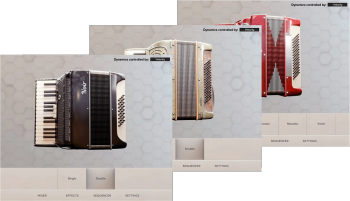 2020年新款手风琴音源Wavesfactory Le Parisien KONTAKT