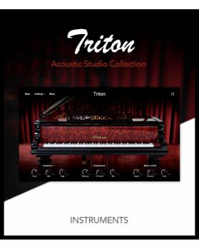经典钢琴音源Muze PA Triton KONTAKT