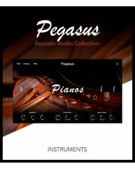 飞马座声学钢琴音源Muze PA Pegasus KONTAKT