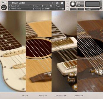 真实吉他音源Wavesfactory Strum Guitar KONTAKT