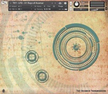 电子合成器音源Alex Pfeffer The Eridanus Transmissions v1.1 KONTAKT