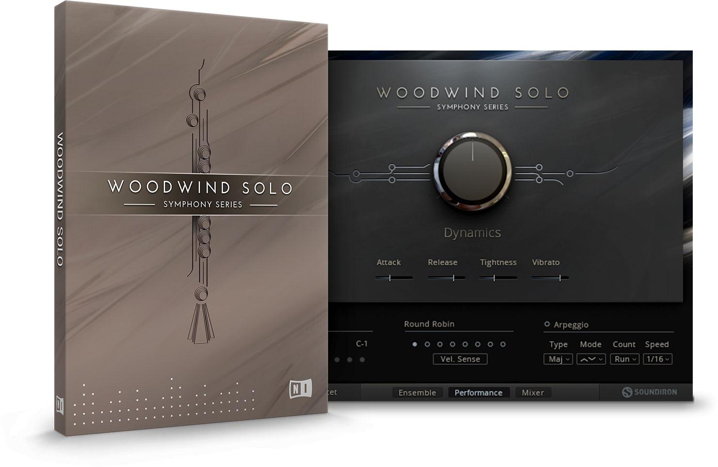 交响乐系列木管音色Native InstrumentsWOODWIND SOLO KONTAKT