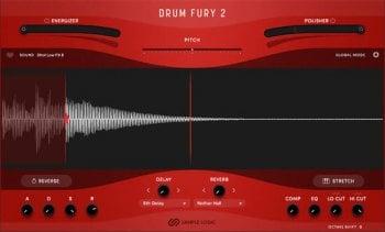 采样鼓音源Sample Logic DRUM FURY 2 KONTAKT