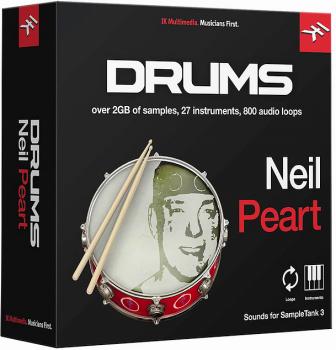 鼓音源IK Multimedia Neil Peart Drums for SampleTank 3/4