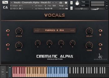 人声编辑器Andrew Fly Cinematic Alpha Vocals Edition v2.0 KONTAKT