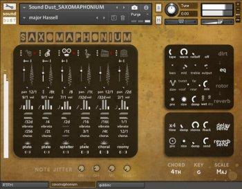 萨克斯风琴音源Sound Dust SAXOMAPHONIUM KONTAKT