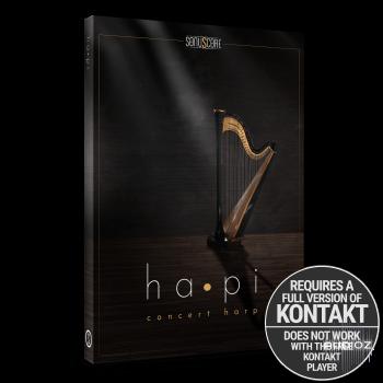 音乐会竖琴音源Sonuscore ha•pi – Concert Harp KONTAKT