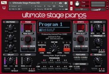 舞台钢琴音源Ultimate Stage Pianos HD KONTAKT