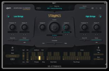 传奇弦乐音源UJAM Symphonic Elements STRIIIINGS v1.0.0 MacOS