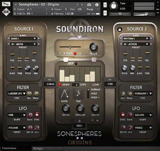 大气合成器Soundiron Sonespheres 2 Origins KONTAKT