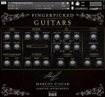 吉他音源Marcos Ciscar Fingerpicked Guitars KONTAKT