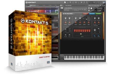 康泰克Native Instruments Kontakt 5 v5.8.1 MacOSX