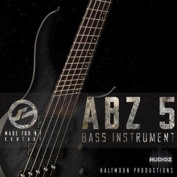 贝斯音源Half Moon Productions ABZ 5 BASS INSTRUMENT KONTAKT
