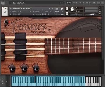 五弦贝司音源Angel Cano Traveler Bass v1.12 KONTAKT