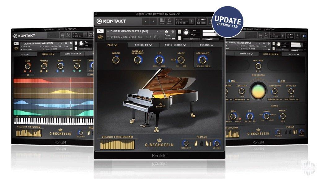 钢琴音源Bechstein Digital C. Bechstein Digital Grand v1.1.0 KONTAKT
